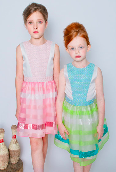 Suoak New York, Pink Organza Dress from Angelibebe