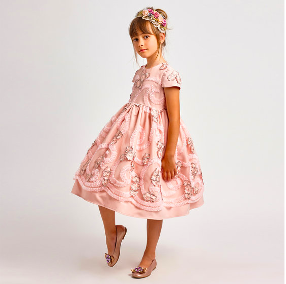 Blush Flower Girl Dress from Graci
