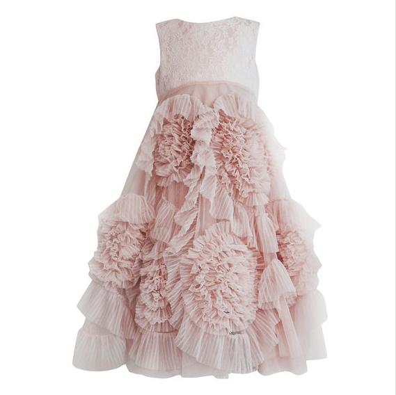 Blush Flower Girl Dress from Le Petit Tom