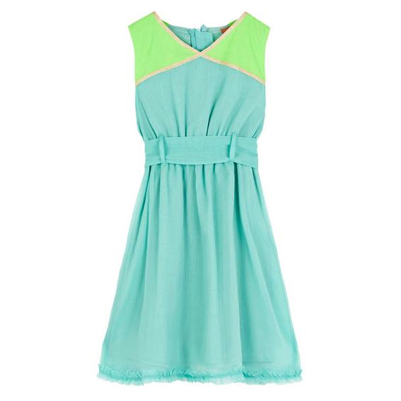 Designer Kids Clothing Blue Girls Party Dress