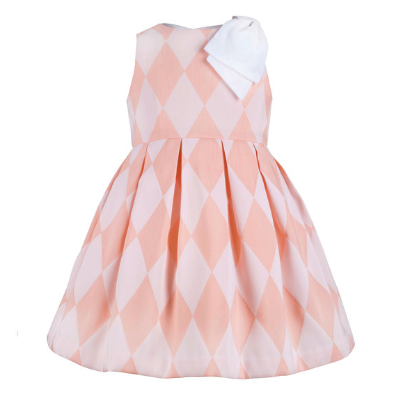 Pink Toddler Flower Girl Dress by Hucklebones London