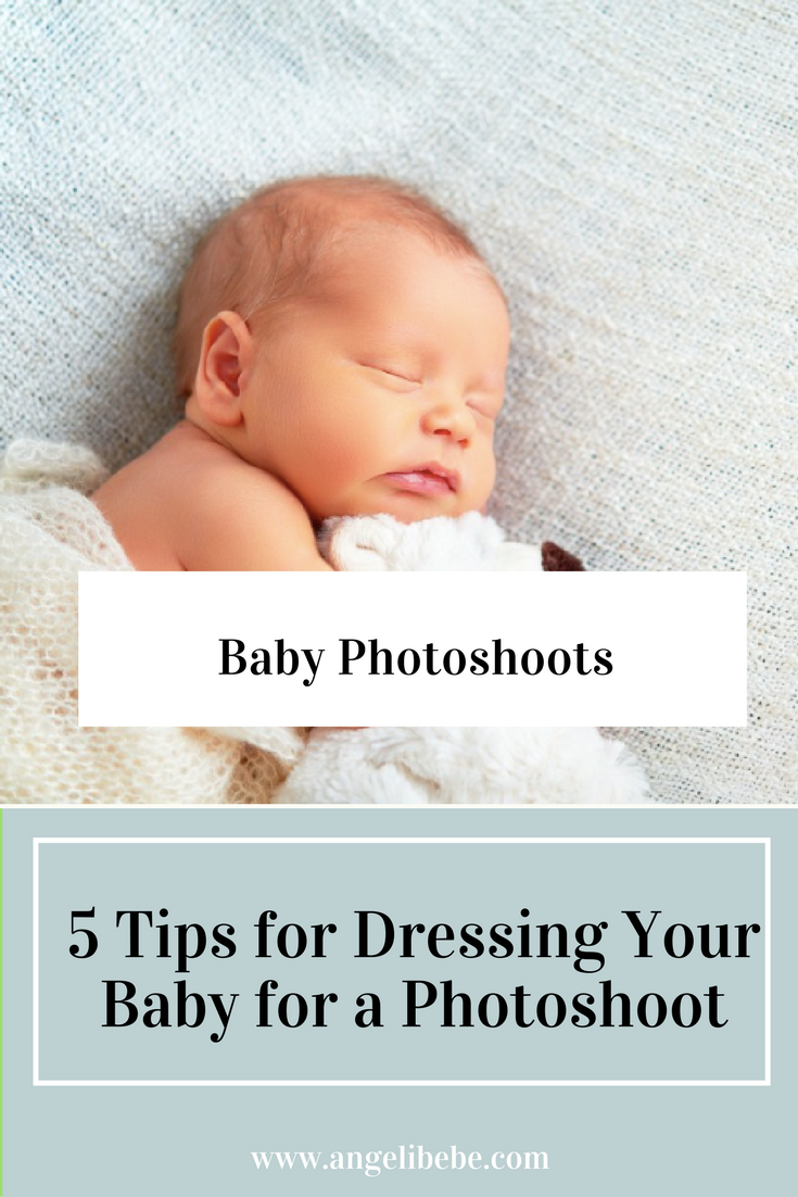 How to dress your newborn for a photoshoot