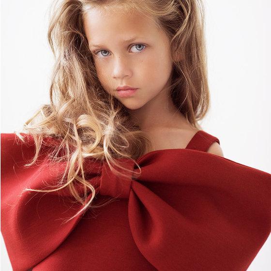 """Red """"Ariel"""" Dress"""