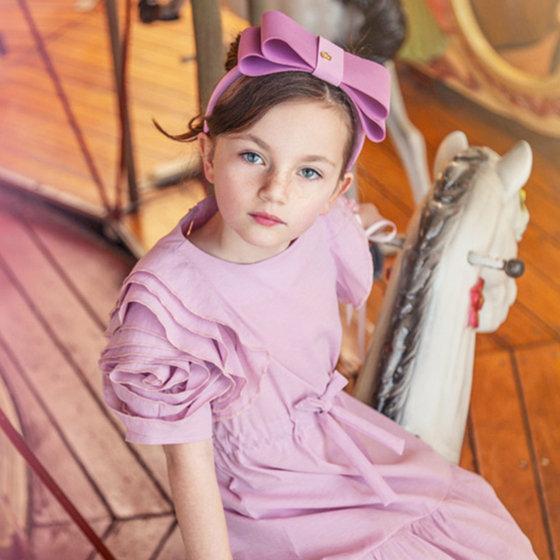 Rose Dress in Lavender