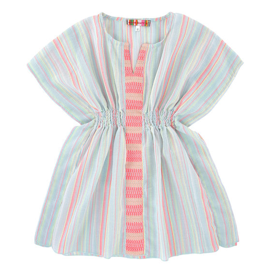 Light Multicolor Tunic Stripe