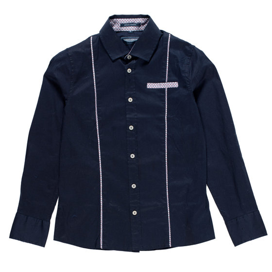 Boys Dark Blue Shirt