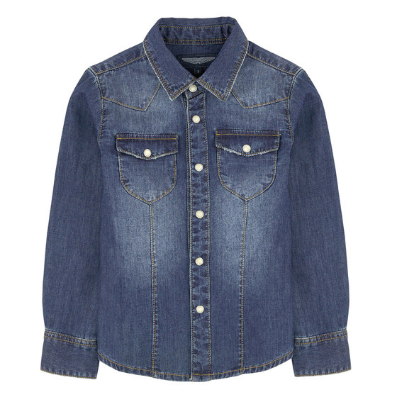 Toddler Boys Denim Shirt