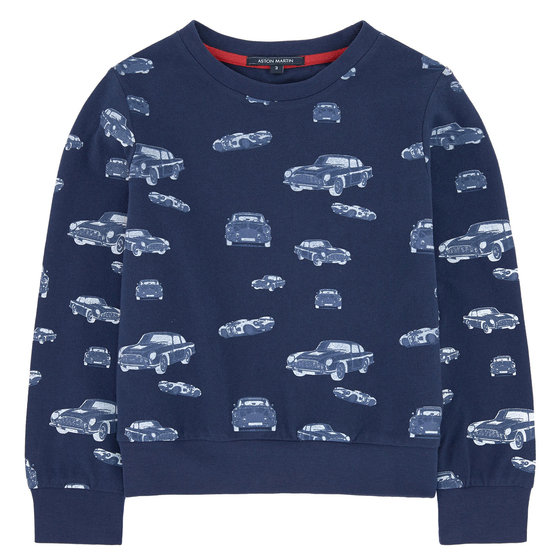 Toddler Boy Printed Sweater