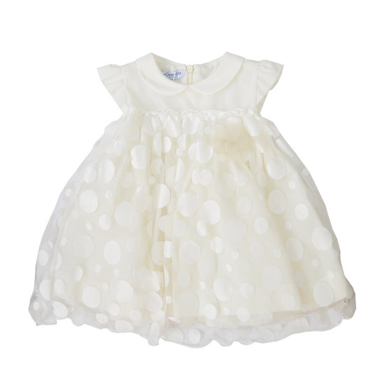 Baby Girl Layered Polkadot Sleeveless Dress