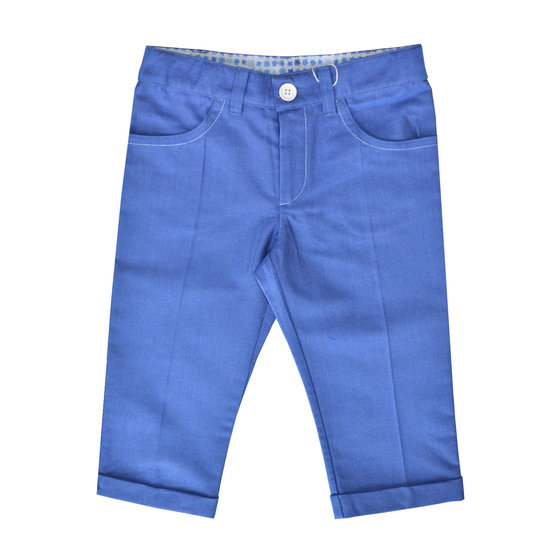 Boy Regular Fit Blue Trousers