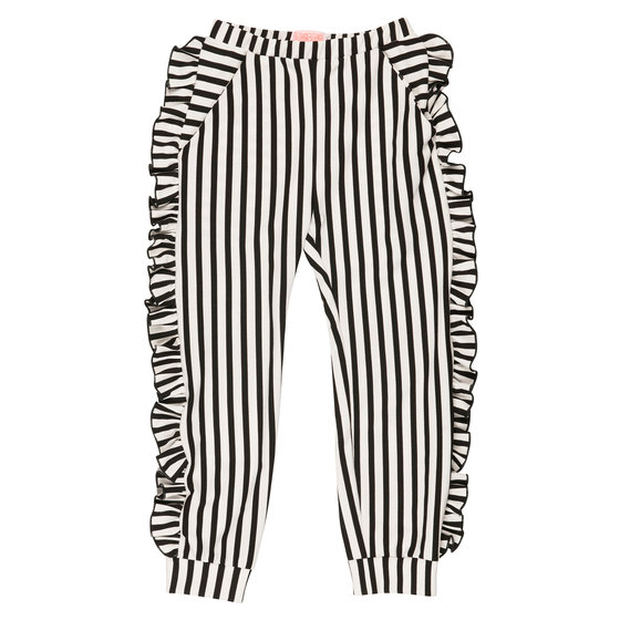 "Fringed ""Aya"" Striped Pants"