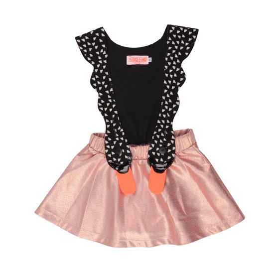 Bird Girl Cobber Pinafore Dress