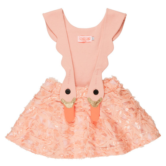 Bird Girl Limited Pinafore Dress