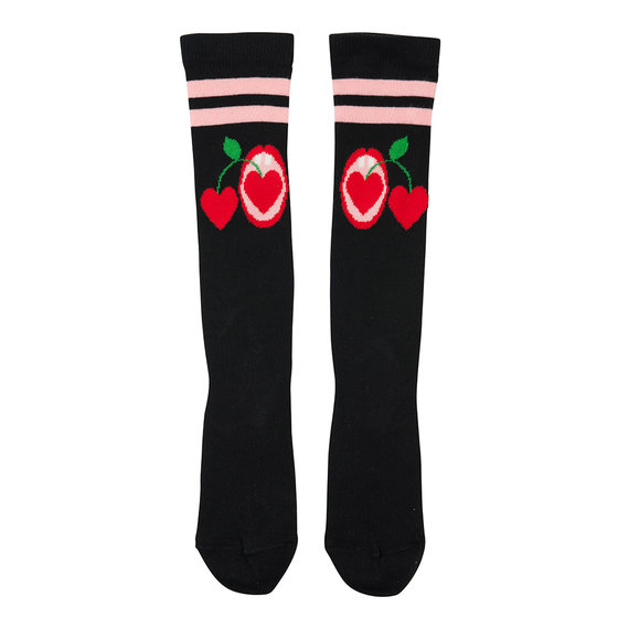 "New Season: Girl ""Cherries"" Knee Socks"