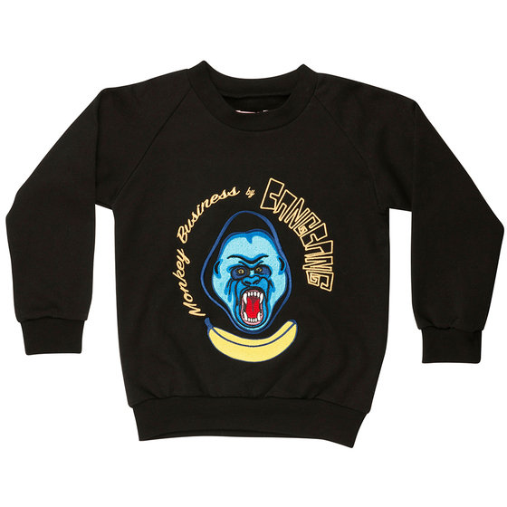 Bang Banana Embroidered Sweatshirt
