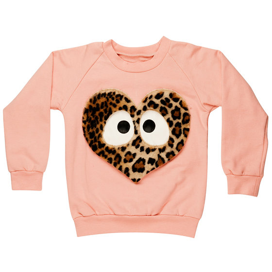 Heart Cotton Sweatshirt