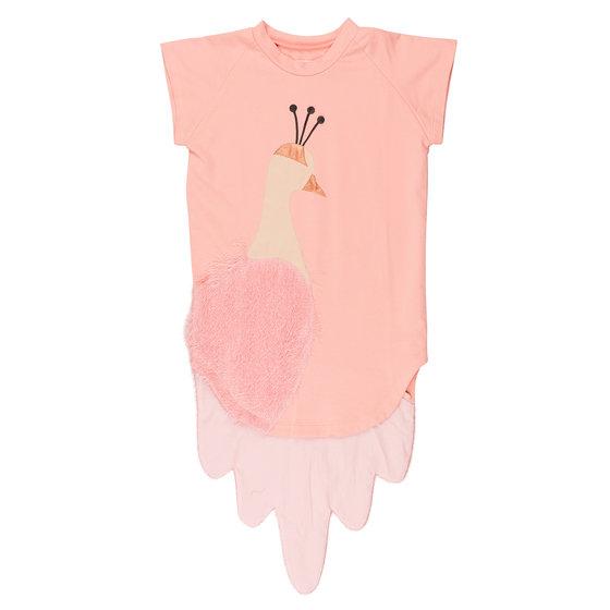 "Pink ""Peacock"" Dress"