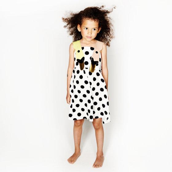 Sunshine Dots Sleeveless Dress