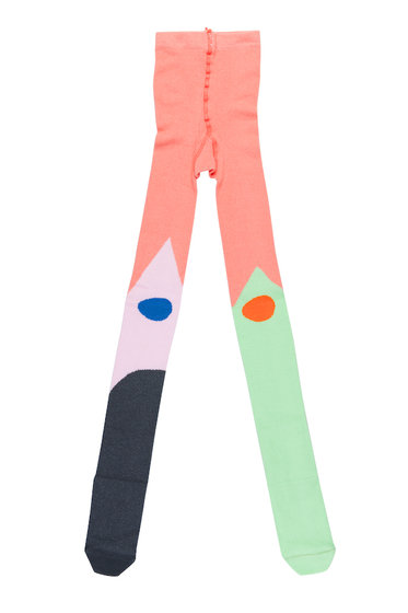 Color Mix Tights