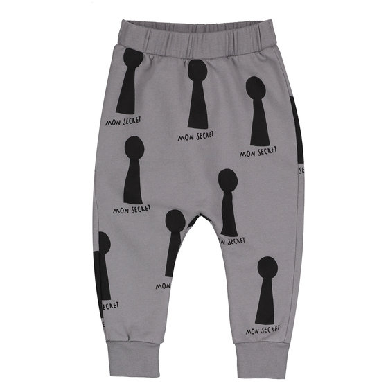 Baby Trouser with KEYHOLES AOP