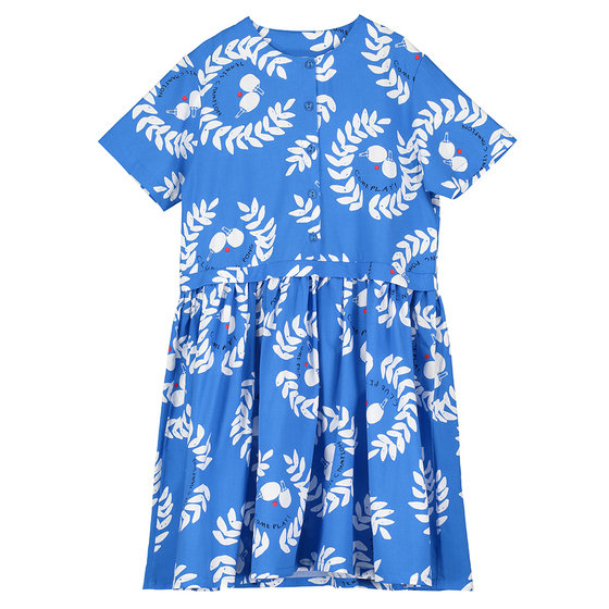 New Season: Button Front Printed Dress
