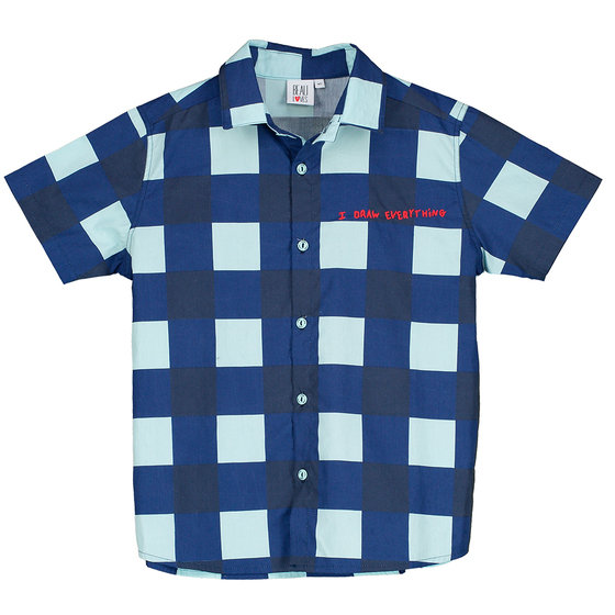 Gingham Short Sleeves Shirt