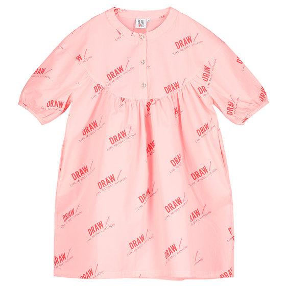 Girl Over-sized Smock Dress