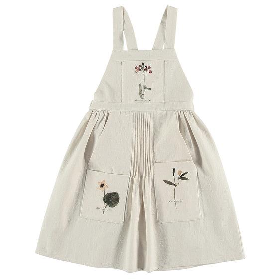 """Herbarium"" Apron Dress"