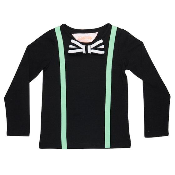 Black Suspender Look T-shirts