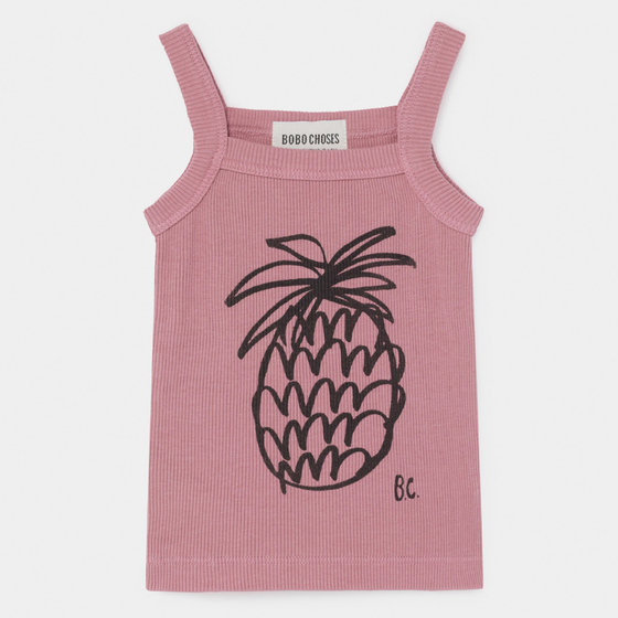 Baby Girl Pineapple Tank Top