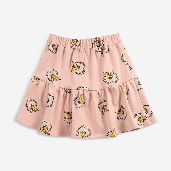 Birdie All Over Fleece Skirt