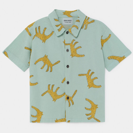 Boy Leopard Shirt