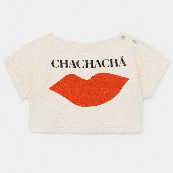 Girl Chacha Kiss Cropped Sweatshirt