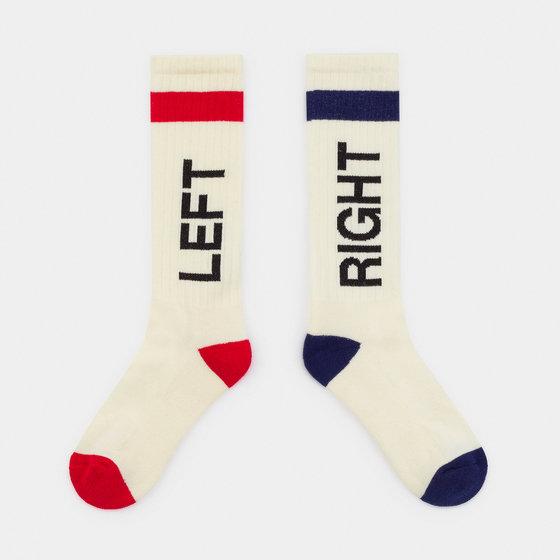 Left Right Knee Socks