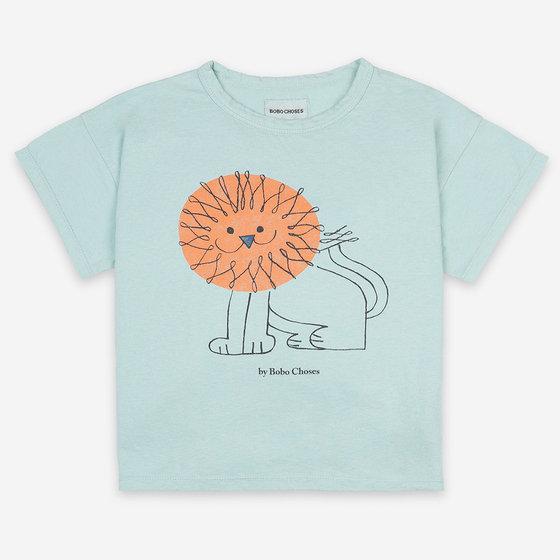 Pet A Lion Short Sleeve T-Shirt