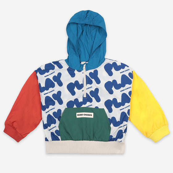 Play All Over Rain Jacket