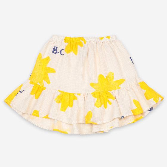 Sparkle All Over Ruffle Mini Skirt