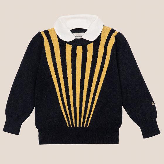 Stripes Collar Jumper
