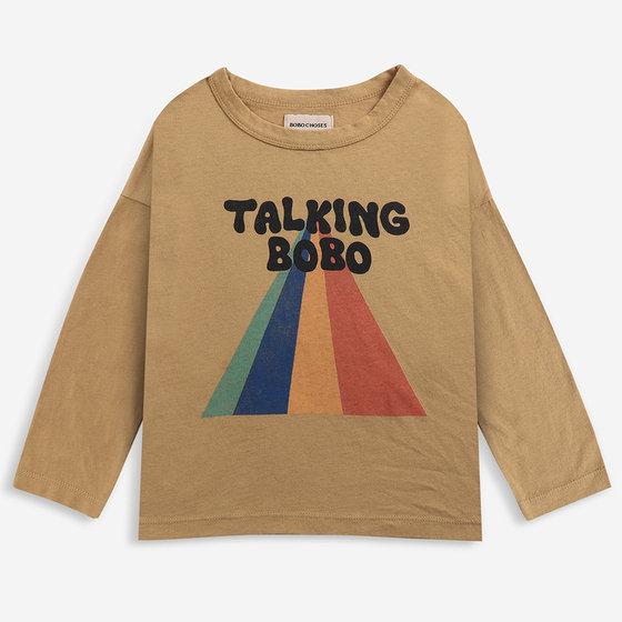 Talking Bobo Rainbow LS T-shirt