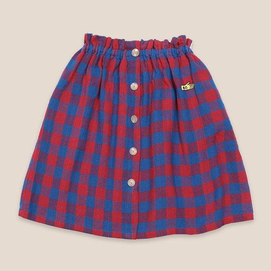 Tartan Woven Skirt
