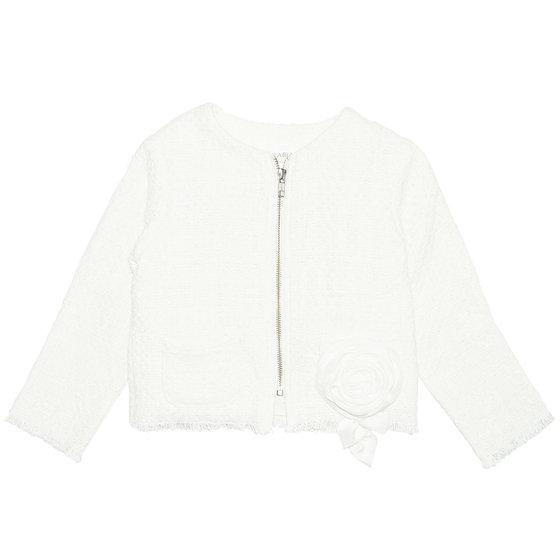 Off White Tweed Jacket