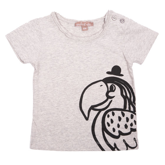 Perroquet Print T-shirt