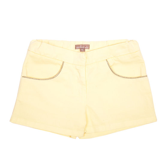 Honey Girls Shorts With Glittering Threads