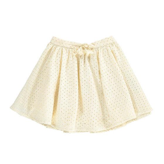Milk Broderie Anglaise Skirt