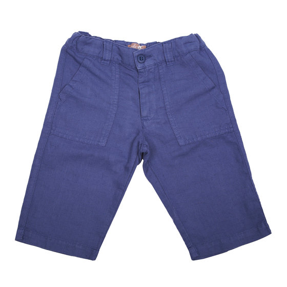 Boys Navy Blue Bermudas