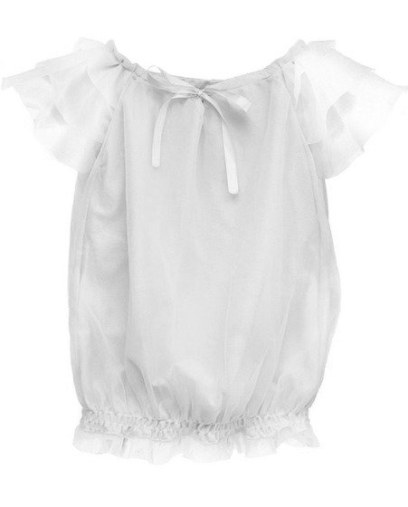 Dolly Off White Fairy Top