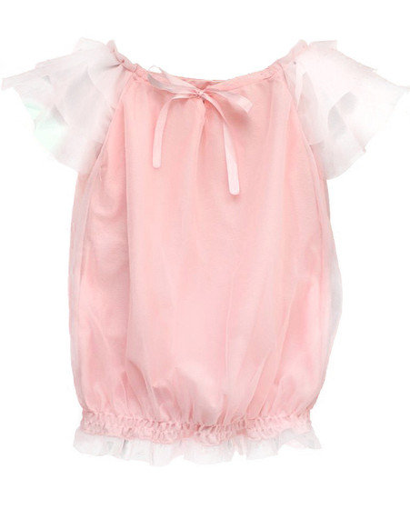 Dolly Ballet Pink Fairy Top