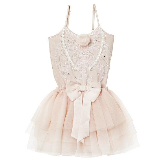 Feminine Pink Tutu Dress