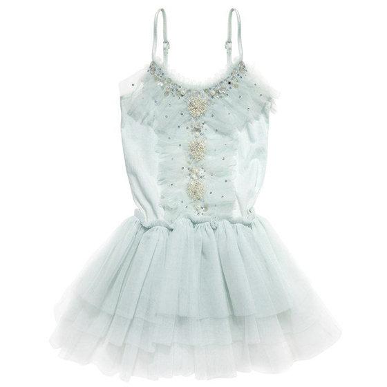 Frost Blue Tutu Dress