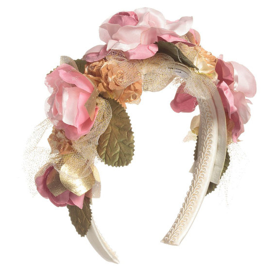 Pink Roses Hairband